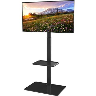 Universal Floor TV Stand with Mount for 19 to 42 inch Flat Screen TV