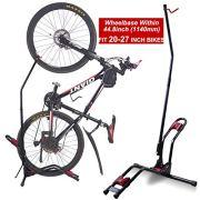 Dinsam Top Vertical Bike Stand, Indoor Bike Rack - Fits Nearly All Bikes