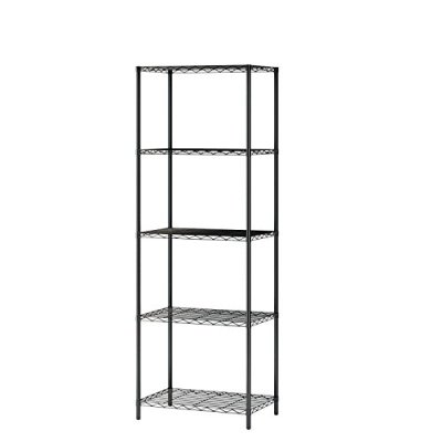 Homebi 5-Tier Wire Shelving 5 Shelves Unit Metal Storage Rack Durable Organizer