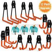 Garage Hooks, UNIHAO 12 Pack Garage Storage Hooks Utility Hooks Heavy Duty