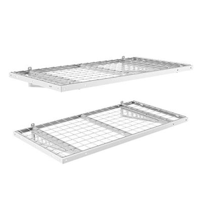 FLEXIMOUNTS 2-Pack 2x4ft 24-inch-by-48-inch Wall Shelf Garage Storage Rack