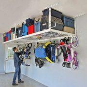 """SafeRacks 4x8-2 Rack Package w/Accessory Hooks 24-45"""" Drop"""
