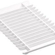KOHLER Prolific Multipurpose Grated Rack, White