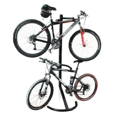 RAD Cycle Gravity Bike Stand Bicycle Rack For Storage or Display Holds Two Bicycles