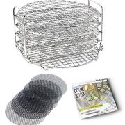 Kitchnplus Dehydrator Rack Stainless Steel Stand. Compatible