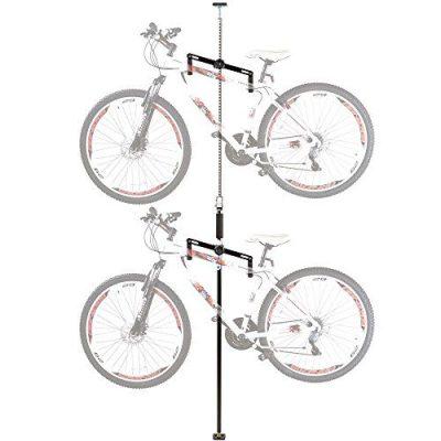 Rage Powersports Apex Bike-Stand-5 Double Vertical Bicycle Storage Hanger Rack
