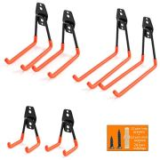 Ihomepark Heavy Duty Garage Storage Utility Hooks for Ladders & Tools