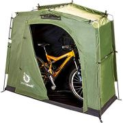 The YardStash III: Space Saving Outdoor Bike Storage, Garden Storage