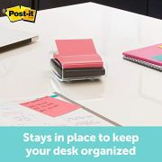 Post-it Pop-up Note Dispenser, Black, Designed to work with Pop-up Notes