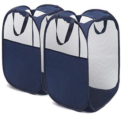 Mesh Laundry Hamper - Pop Up Dorm Laundry Hamper Basket