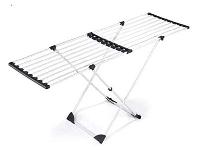 Polder Expandable Laundry Drying Rack, 50.8 ft of Drying Space, Folds to 2.17 in
