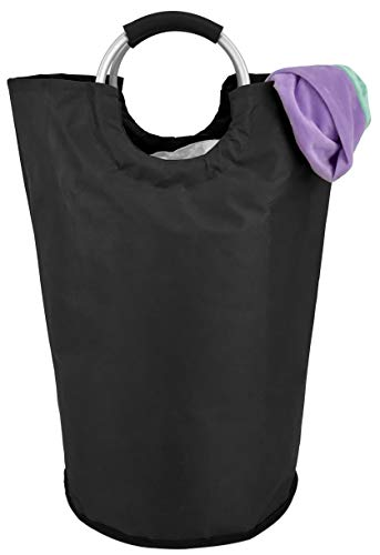 Collapsible Fabric Laundry Hamper - Portable, Foldable Large Capacity Laundry