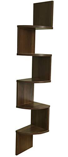 ABO Gear Corner Shelf Wall Mount Home Decor Corner Shelves Floating Shelves