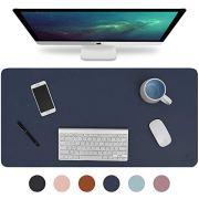 """Knodel Desk Pad, Office Desk Mat, 35.4"""" x 17"""" PU Leather Desk Blotter"""