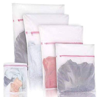 HOZZ 5PCS - Zipper Mesh Laundry Bag, Laundry Underwear Bag