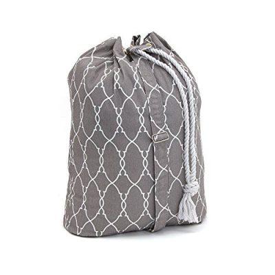 Filo Extra Heavy Duty Laundry Drawstring Duffle Bag, Storage Sisal Rope Bins, Baskets, Rope Woven Nursery Bins