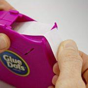 Glue Dots Desktop Dispenser, Multicolor