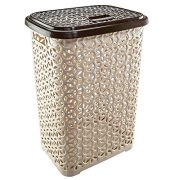 Uniware 60 LT Hollow Design Clothes Hamper Laundry Basket, Made in Turkey