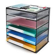 Veesun Paper Letter Tray Organizer, Mesh Desk File Organizer
