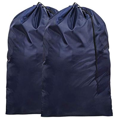 ZERO JET LAG 2 Pack Extra Large Laundry Bag for Travel Nylon Rip-Stop Dirty Clothes
