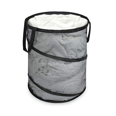 Smart Design Pop-Up Laundry Hamper w/ Easy Carry Handles