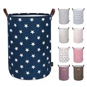 DOKEHOM 19-Inches Thickened Large Laundry Basket -(9 Colors)