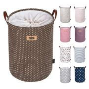 DOKEHOM 22-Inches Thickened X-Large Laundry Basket -(9 Colors)