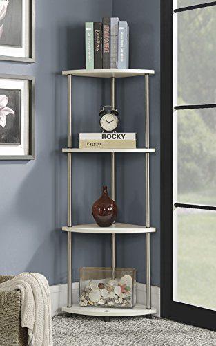 Convenience Concepts Designs2Go 4 Tier Corner Shelf