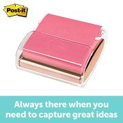 Post-it Pop-up Note Dispenser, Rose Gold, 3 Inches x 3 Inches