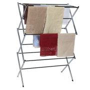 Folding Drying Rack, WensLTD Multifunctional Foldable Drying Rack Horse Extendable Telescopic Clothes Dryer for Hang Laundry (Ship from US!!!)