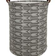 HIYAGON Large Storage Baskets,Waterproof Laundry Baskets,Collapsible Canvas