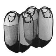 Ubitking Mesh Popup Laundry Hamper Foldable Laundry Basket Collapsible Clothes