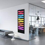 Hanging File Folders Organizer, 10 Pockets, 3 Hangers Cascading Wall Organizer