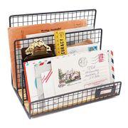 Office Desktop 3 Slot File Letter Magazine Folder Document Tray