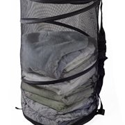 Maypes Collapsible Wire Mesh Laundry Hamper - Portable, Durable Pop-Up Laundry