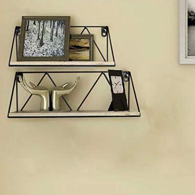 Edenseelake Floating Wall Shelves Set of 2, Wood Storage Shelf
