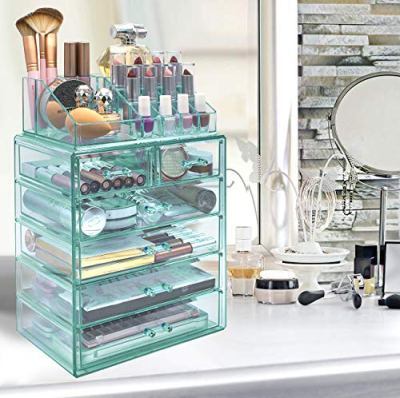 Sorbus Cosmetic Makeup and Jewelry Storage Case Display - Spacious Design