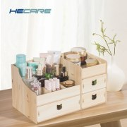 Wood Cosmetic Organizer Diy Assembly Wooden
