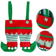 Santa PantS Christmas Candy Bag Gift Wrap Kids