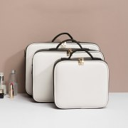 Storage Bag with Adjustable Compartments For Toiletry Brush Divider