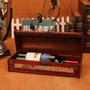 Wooden Packing Box for Red Wine Bottle