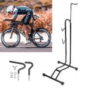 Heavy L-type Bicycle Coated Steel Display Floor Rack
