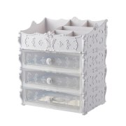 Plastic Cosmetic Drawer Container Makeup Organizer Box