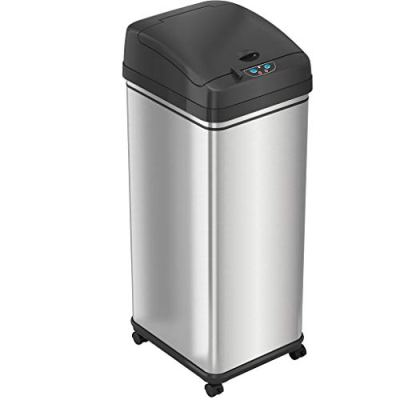 iTouchless Pet-Proof 13 Gallon Sensor Kitchen Trash Can