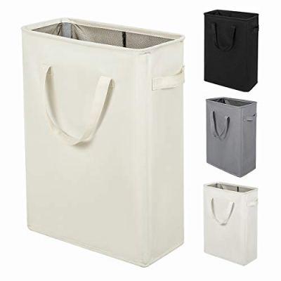45L Slim Laundry Hamper with Handles Thin Laundry Bin