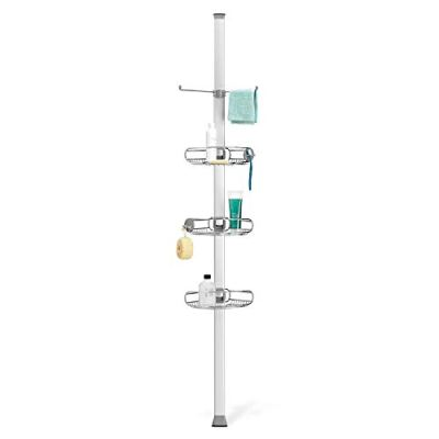 Tension Pole Shower Caddy Stainless Steel