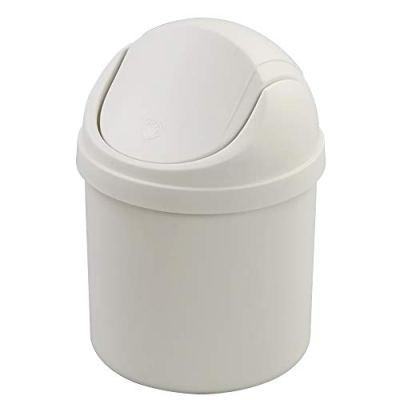 Countertop Garbage Can with Lid Mini Desktop Waste Bin