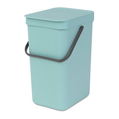 Brabantia Sort & Go Waste Bin 12 L, Mint