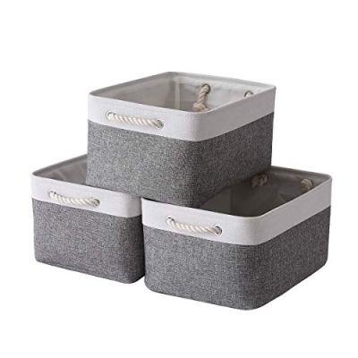 Sacyic Large Storage Baskets for Shelves, Fabric Baskets for Organizing