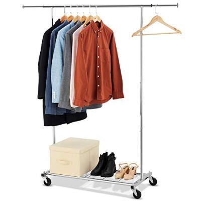 Bextsware Clothes Garment Rack On Wheels